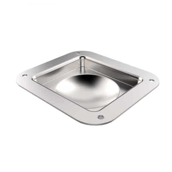 ARMOR YR-6503C Small Road Case Castor Dish with Shallow Recess
