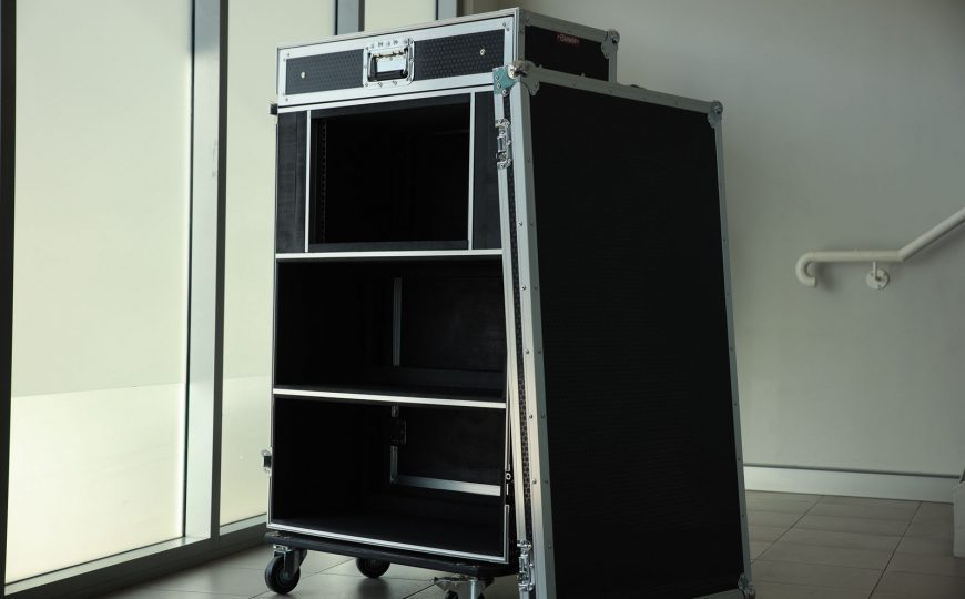 Custom Amp Head Road Case 1