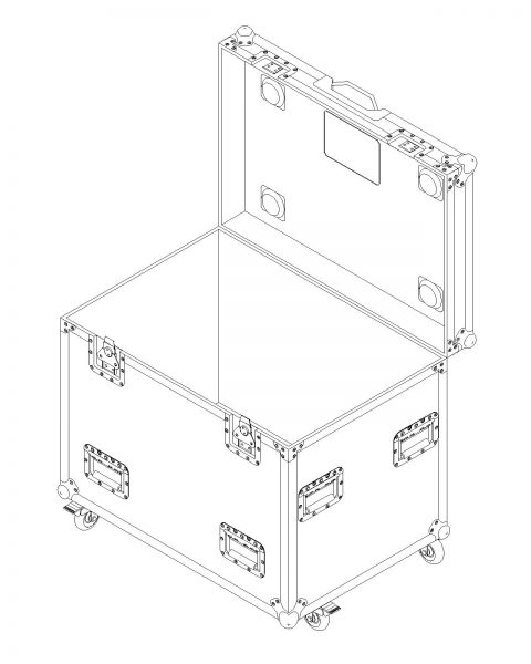cable packer road case