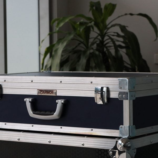 carry case with die-cast latches