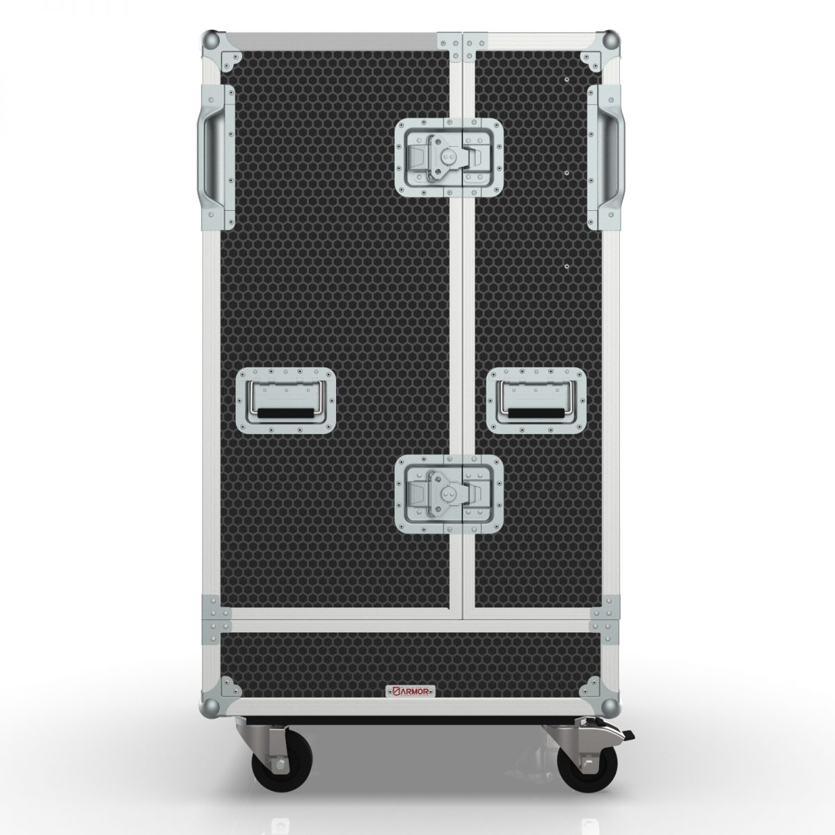 Left- Road Case for dBTechnologies VIO L208 Line Array Speaker System 4in1 Rigged