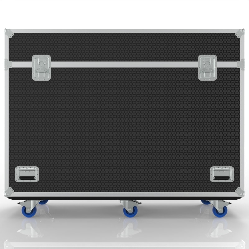 Road Transport Case with Built-in Motorized Lift for Viewsonic IFP6550 Display