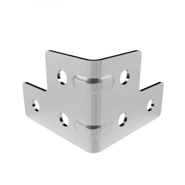 ARMOR B4301 Small 6 Hole Corner Brace with Strengthening Ribs