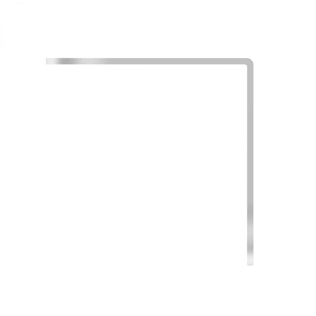 RMOR Hardware B4602 4 Hole Corner Angle Steel Brace