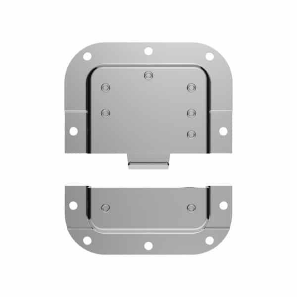 ARMOR Hardware L2208 Medium Butterfly Latch