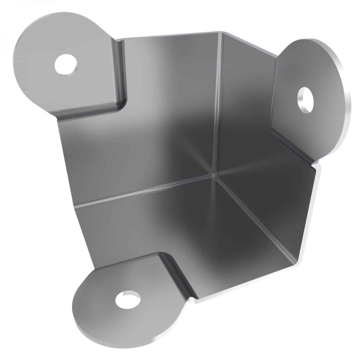 ARMOR C2094 Small 3 Hole Flat Corner with Offset