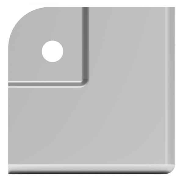 ARMOR C2221 Small Flat Steel Corner