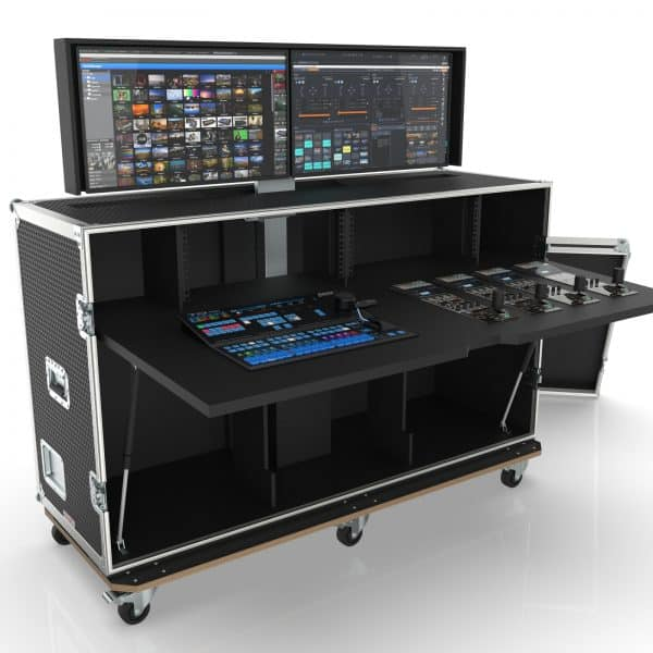 Flypack Video Production Workstation Road Case WS-SC